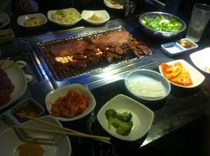 Koreanisches BBQ in Los Angeles