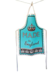 Made-In-England-Schürze, gesehen bei www.fruugo.de, ca. 25 Euro